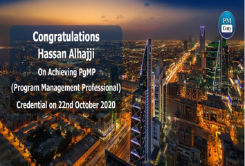 Congratulations Hassan on Achieving PgMP..!